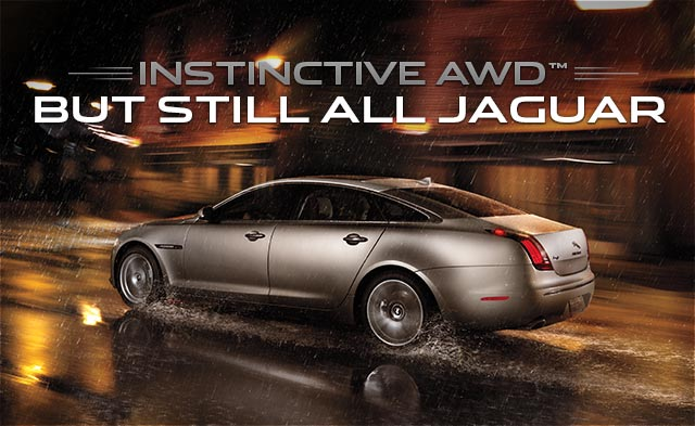 All Wheel Drive But Still All Jaguar